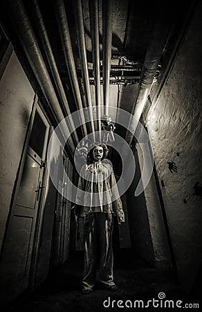 Free Horror Movie Scene Royalty Free Stock Photography - 102468837