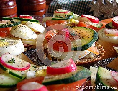 Hors D Oeuvres Amuse Bouche Sandwiches