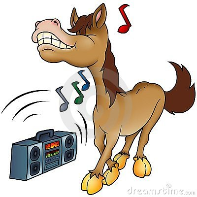 Free Horse And Music Stock Photo - 2398530