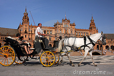 Horse carriage Editorial Image