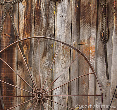 Free Horse Carriage Wheel Stock Image - 5569181