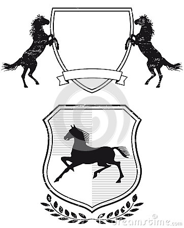 Horse coat of arms