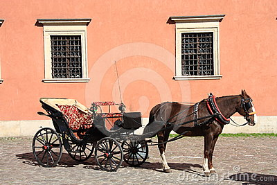 Horse drawn carriage Editorial Stock Photo