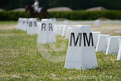 Horse Dressage Rings