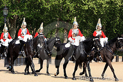 Horse Guards Editorial Stock Photo