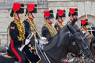 The Horse Guards Parade in London Editorial Stock Photo