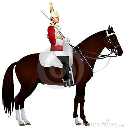 Free Horse Guardsman Royalty Free Stock Photography - 20525617