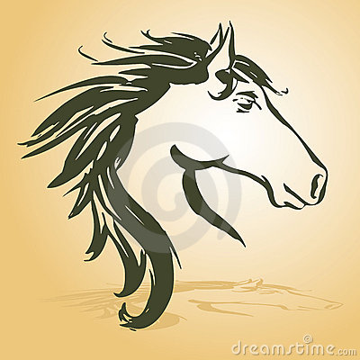 Free Horse Head Royalty Free Stock Image - 20680096