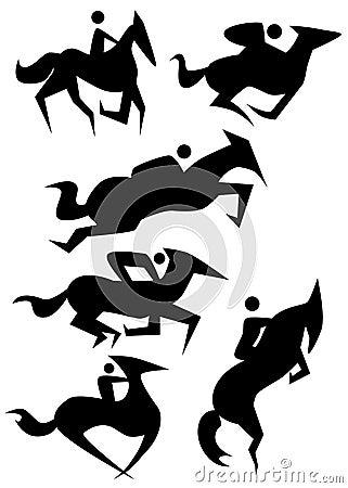 Horse Icon Set