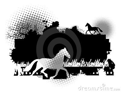 Horse  Illustration Stock Images - Image: 12979794