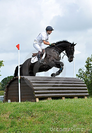 Horse jump Editorial Stock Photo