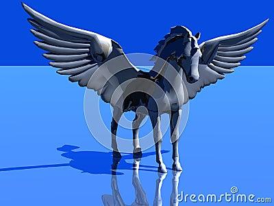 Horse like a bird
