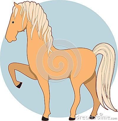 Horse Palomino