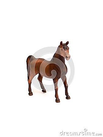 Horse- plastic toy