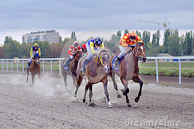 Horse race Editorial Photo