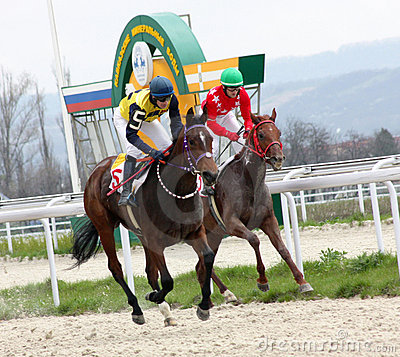 Horse racing. Editorial Stock Photo