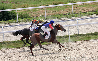 Horse racing. Editorial Stock Image