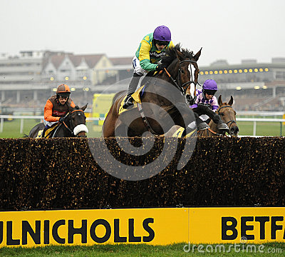 Horse Racing Editorial Stock Photo