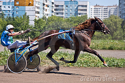 Horse racing Editorial Photo