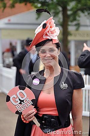 Horse Racing,Ladies day at Ascot Editorial Photo