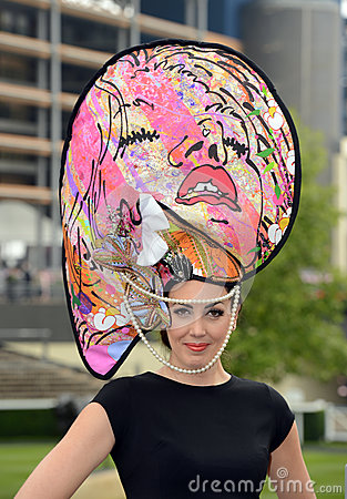Horse Racing,Ladies day at Ascot Editorial Photo