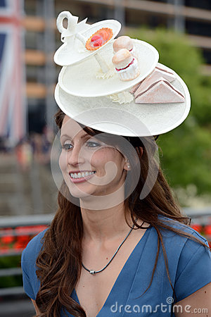 Horse Racing,Ladies day at Ascot Editorial Stock Image