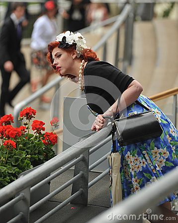 Horse Racing,Ladies day at Ascot Editorial Photography