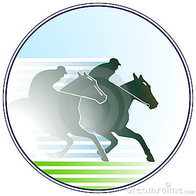 Horse-racing sign