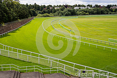 Horse Race Course Track