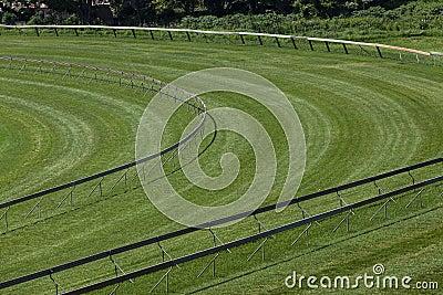 Horse Racing Track Corner
