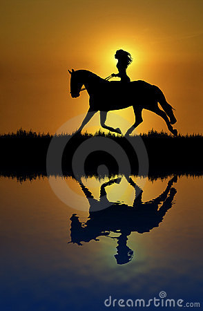 Horse Ride Reflection