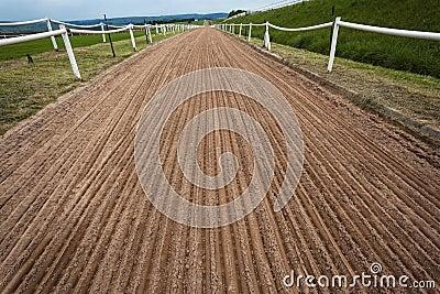 Horse Sand Training Track