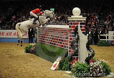 Horse show Editorial Stock Image