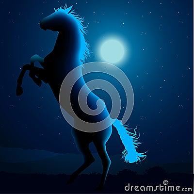 Horse Silhouette B