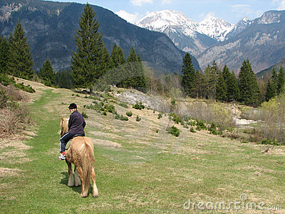 Horseback riding in paradise, triglav national park