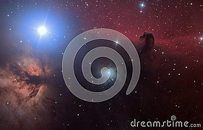 HorseHead Hydrogen Nebula