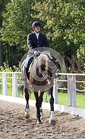 Horseman Editorial Photo