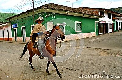 Horseman, Silvia, Colombia Editorial Photography