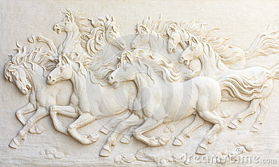 Horses sculptures,Use to decorate