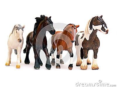 Horses - toys