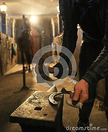 Free Horseshoe Royalty Free Stock Photo - 12186935