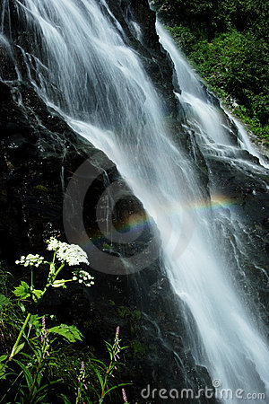 Free Horsetail Falls Near Valdez, AK Royalty Free Stock Photo - 398465