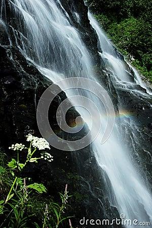 Horsetail Falls near Valdez, AK