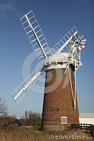 Horsey Windpump - Norfolk Broads - England