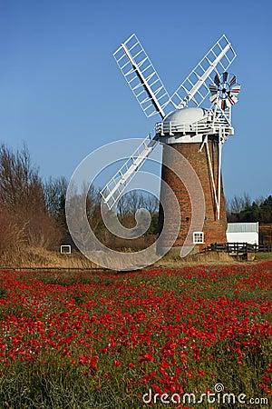 Horsey Windpump - Norfolk - England