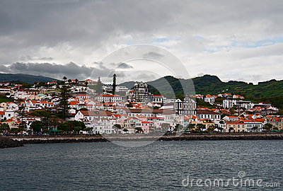 Horta, the view from the sea