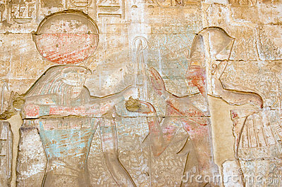 Horus, Ramses and Tree of Life