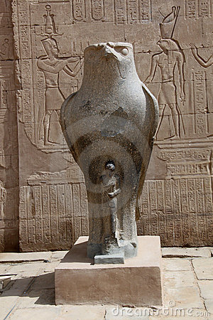 Free Horus Temple - Edfu, Egypt Stock Photos - 15832913
