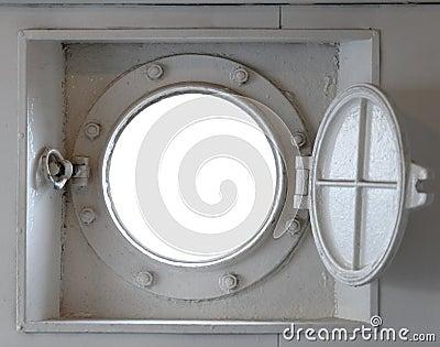 Horyzontalna portowa dziura