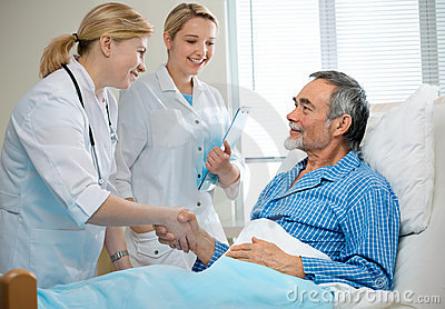 In Hospital Stock Photo - Image: 18546680